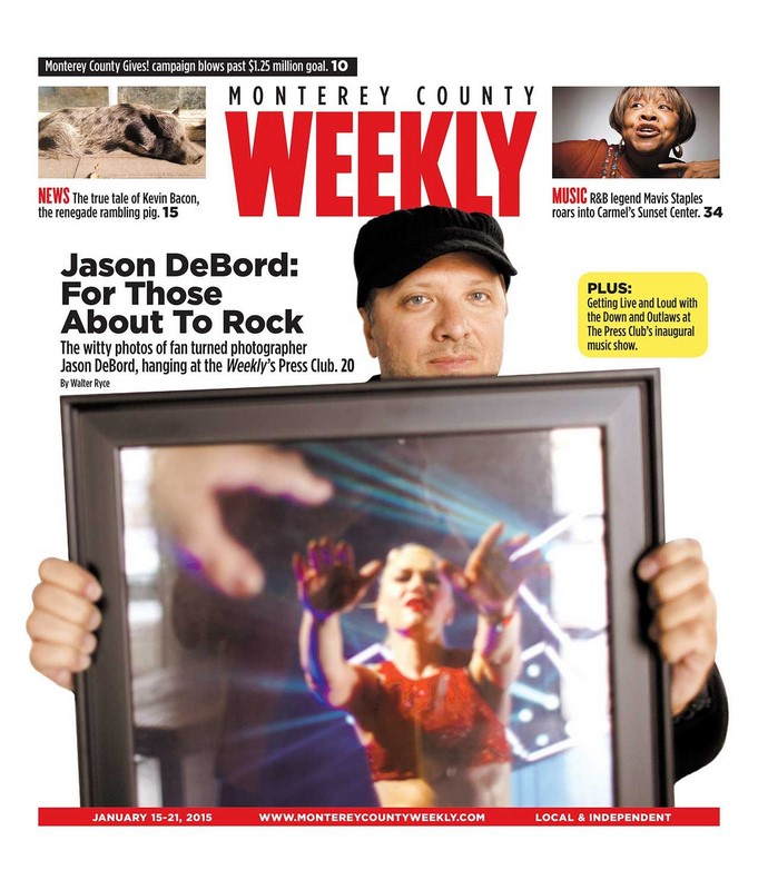 Jason DeBord's Interview and Cover Feature in the Latest Issue of Monterey County Weekly