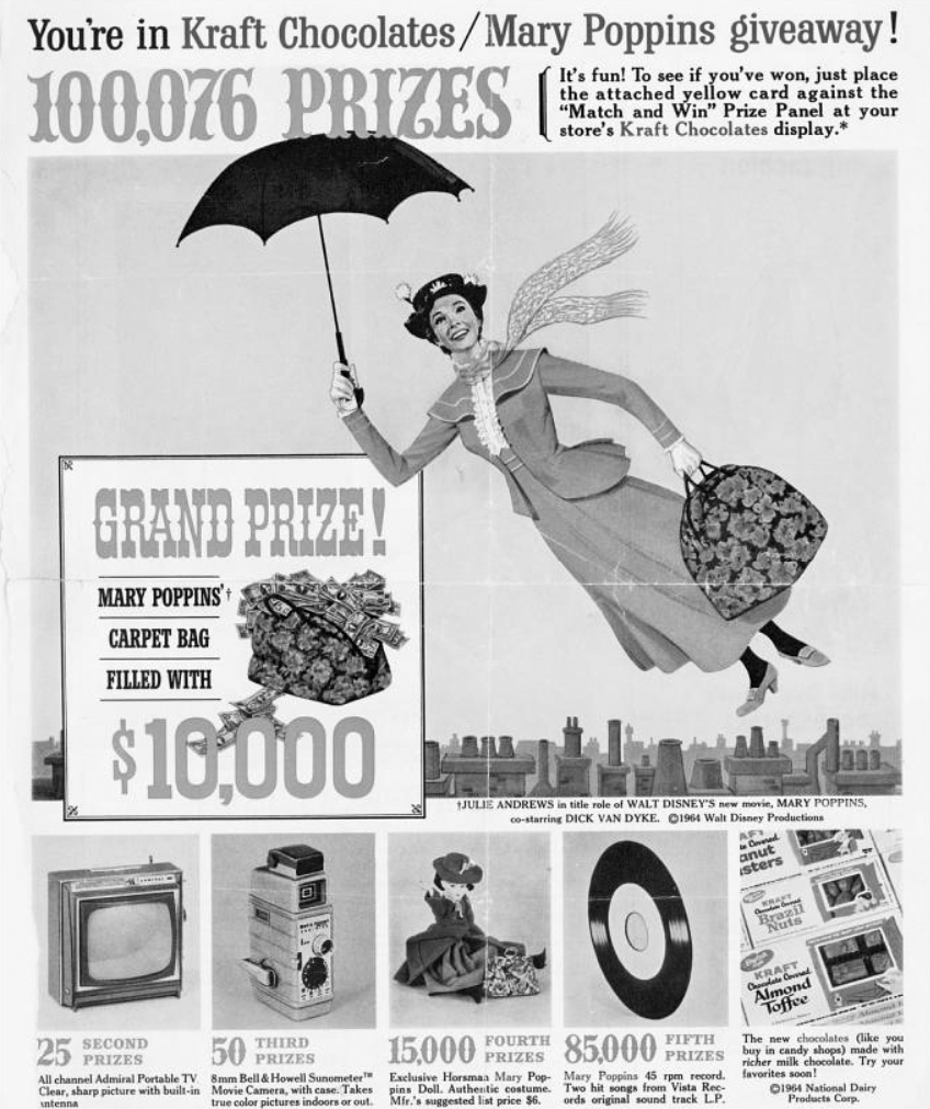 Mary-Poppins-Original-Movie-Prop-Carpet-Bag-Kraft-Chocolates-Contest-Giveaway-Profiles-in-History