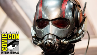 "San Diego Comic-Con 2015: Marvel Entertainment's ""Ant-Man"" Costume at Exhibitor Booth (#SDCC)"