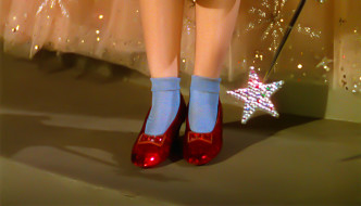 $1 Million Dollar Reward for Dorothy's Stolen Ruby Slippers from Wizard of Oz