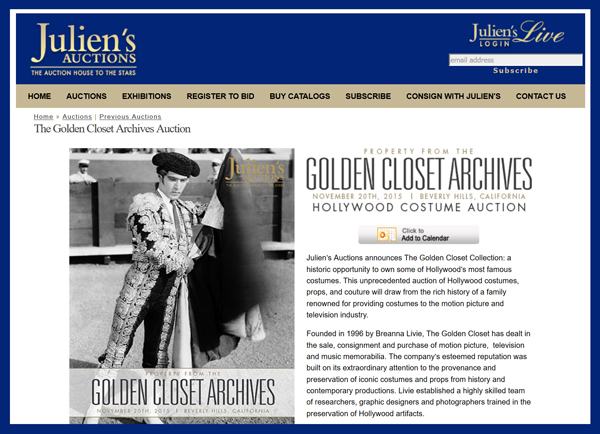Juliens-Auctions-Property-from-the-Golden-Closet-Archives-Auction-2015-Portal-Catalog