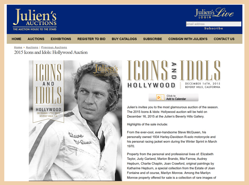 Juliens-Auctions-Icons-and-Idols-Hollywood-2015-Catalog-Portal