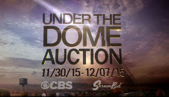 "Screenbid's ""Under The Dome"" Online Auction Ending Tomorrow"