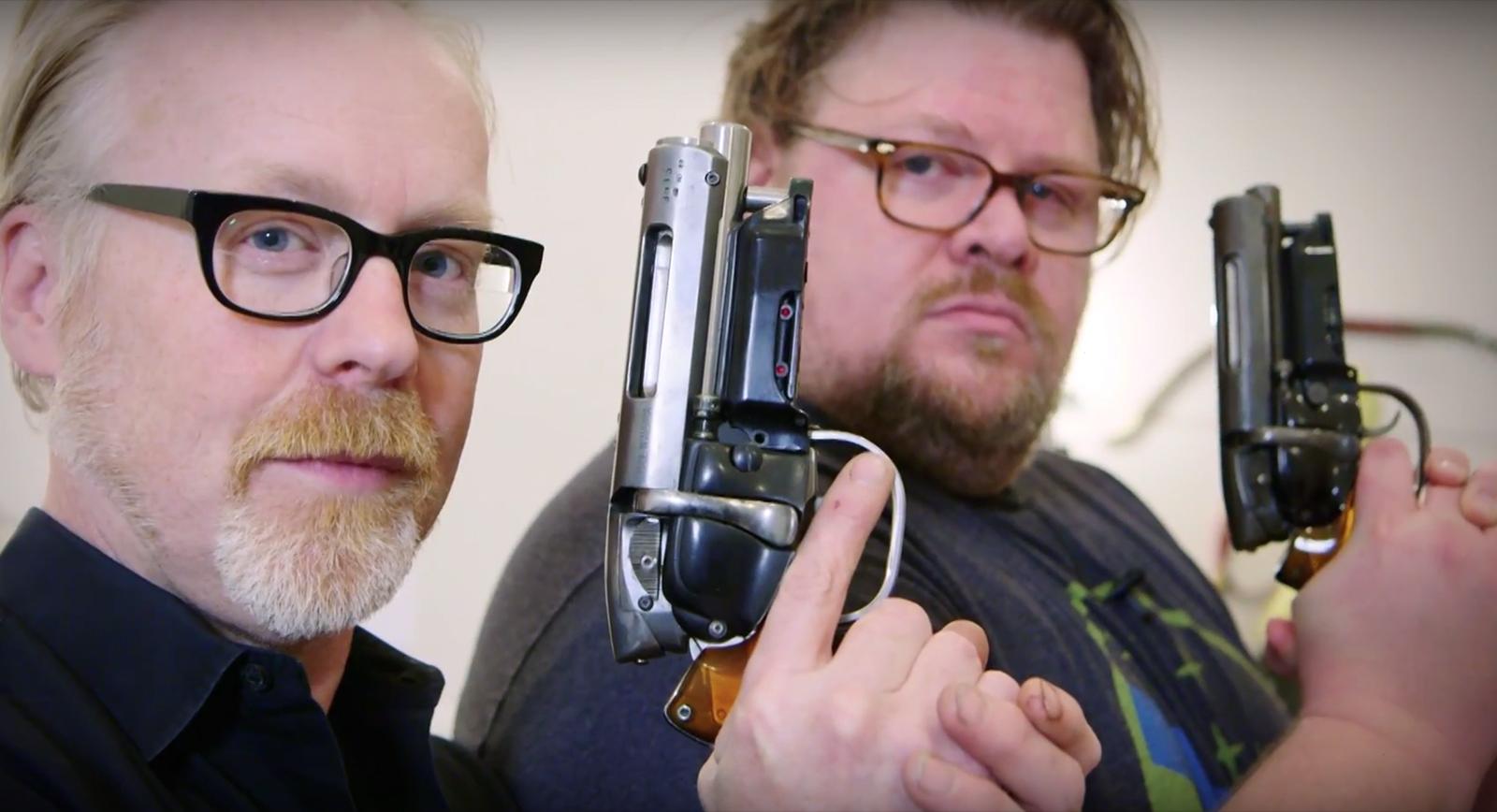 Dan-Lanigan-Blade-Runner-Deckard-Prop-Blaster-Pistol-Adam-Savage-TESTED-Video-Collection