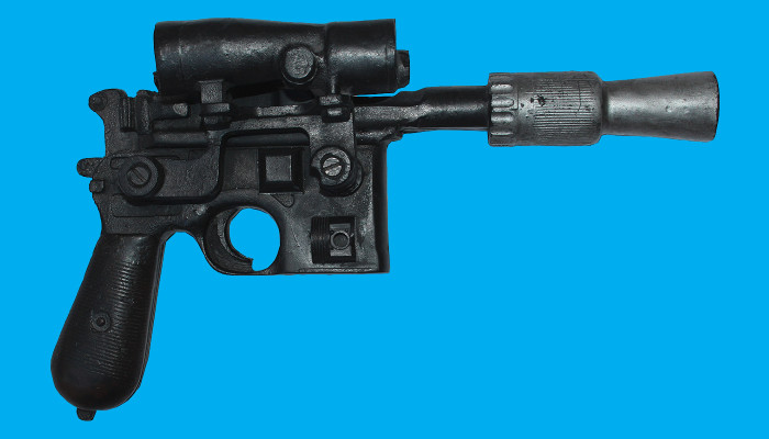 """Luke Skywalker Movie Prop Blaster from """"Star Wars: The Empire Strikes Back"""" Fails to Sell at Nate D. Sanders Auction"""