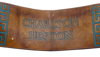 TCM Presents … The Charlton Heston Collection by Bonhams on March 22nd; Catalog Online