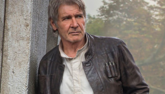 "IfOnly Charity Auction: Harrison Ford's ""Han Solo"" Leather Jacket from ""Star Wars: The Force Awakens"""