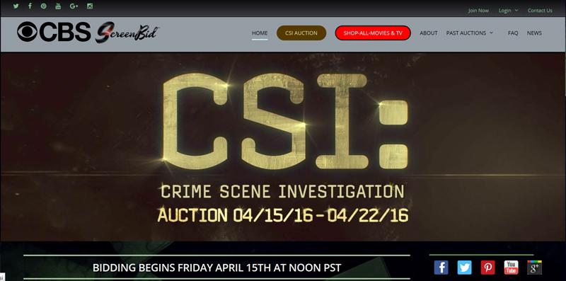 ScreenBid-Auction-CSI-Crime-Scene-Investigation-Memorabilia-CBS-Props-Costumes-Portal