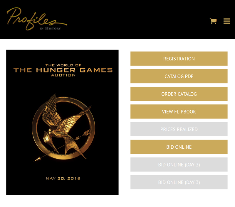 Profiles-in-History-The-World-of-the-Hunger-Games-Auction-Memorabilia-Movie-Props-Costumes-Catalog-Portal