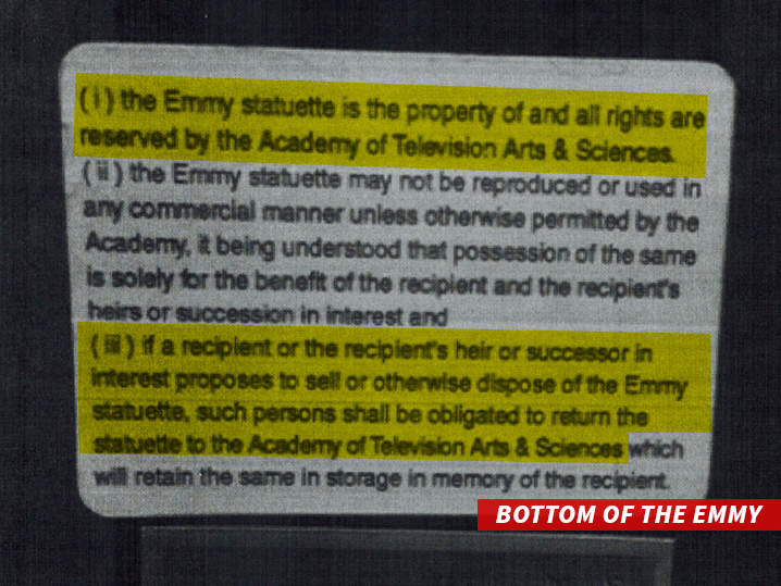 Heritage-Auctions-Whitney-Houston-Lawsuit-Grammy-Emmy-Award-2016-Injunction-TMZ-Sticker