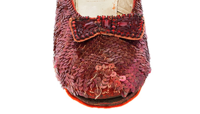 The Smithsonian Institution Launch Kickstarter Campaign to Raise $300,000 to Preserve Dorothy's Ruby Slippers from Wizard of Oz