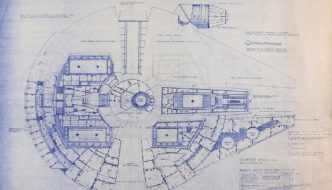 Prop Store Holds Online Star Wars & Star Trek Blueprint Auction April 14th-28th