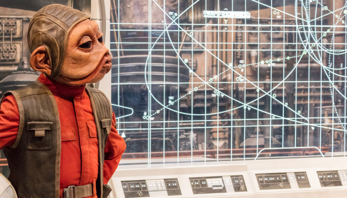 San Diego Comic-Con 2017: Star Wars Costume Exhibits (#SDCC #StarWars #TheLastJedi)
