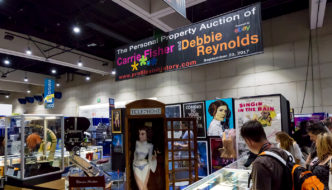 "San Diego Comic-Con 2017: Profiles in History ""The Personal Property Auction of Carrie Fisher and Debbie Reynolds"" Exhibit"